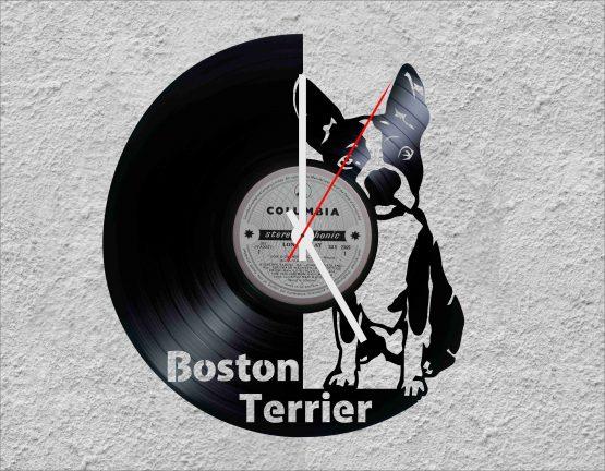 upcycled vinyl record clocks