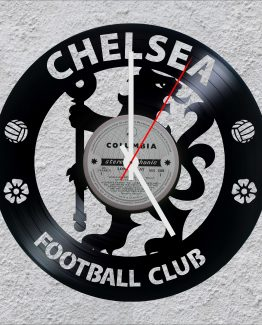 Chelsea Football Club LP Vinyl Clock