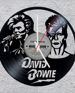 David Bowie LP Vinyl Clock