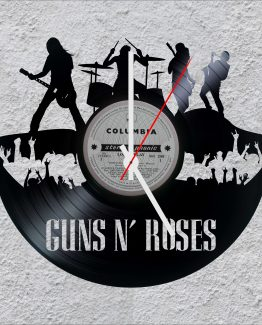 Guns N Roses LP Vinyl Clock