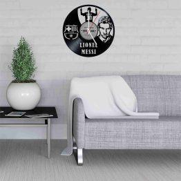 Lionel Messi LP Vinyl Clock