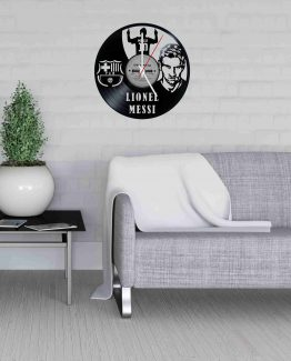 Lionel Messi LP Vinyl Clock