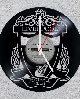 Liverpool Football club LP Vinyl Clock