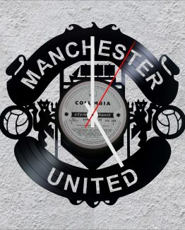 Manchester United LP Vinyl Clock