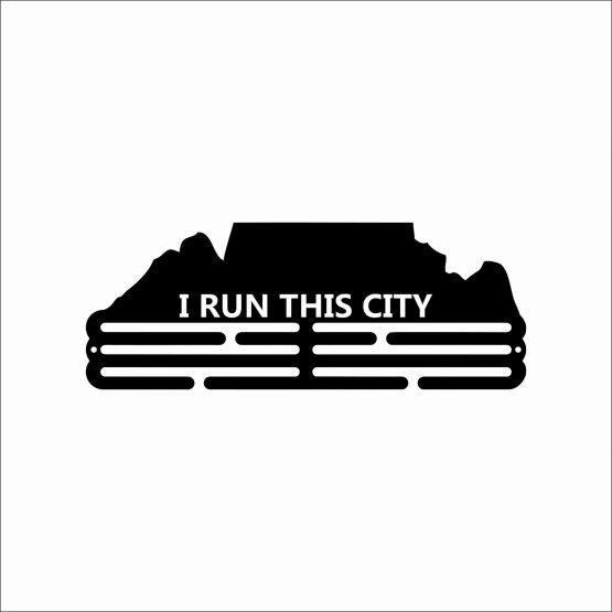 Medal Hanger I Run This City