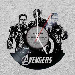 Avengers LP Vinyl Clock