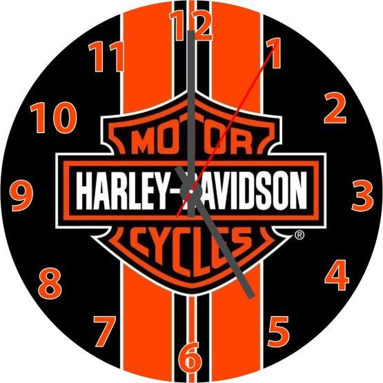 Harley CD Clock