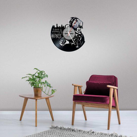 Harley Quinn LP Vinyl Clock