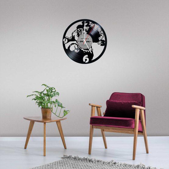 Hulk LP Vinyl Clock