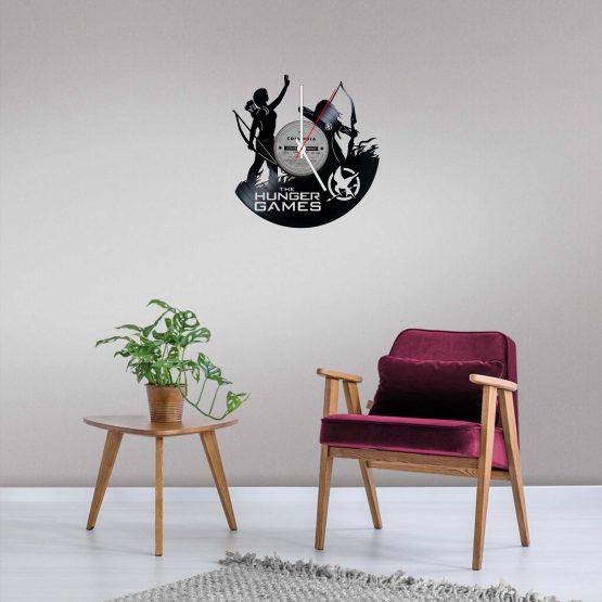 Hunger Games LP Vinyl Clock