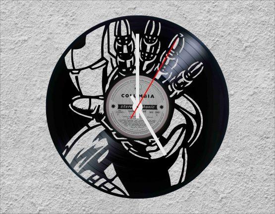Iron Man LP Vinyl Clock