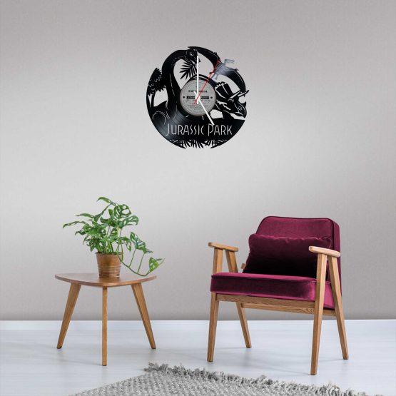 Jurassic Park LP Vinyl Clock