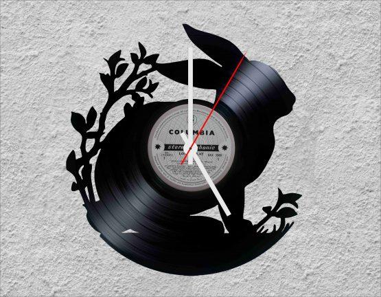 Rabbit LP Vinyl Clock