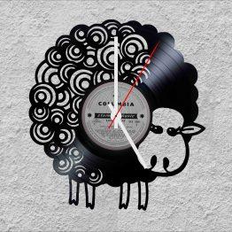 Sheep LP Vinyl Clock