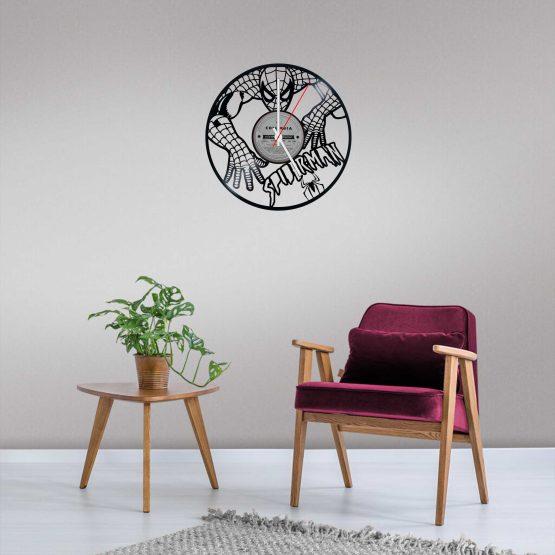 Spider ManLP Vinyl Clock
