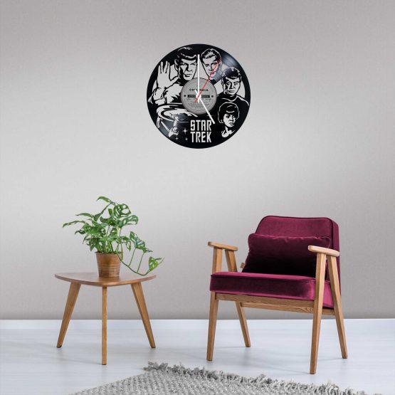 Star Trek LP Vinyl Clock