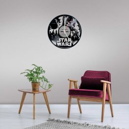 Star Wars LP Vinyl Clock