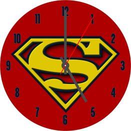 SuperMan CD Clock