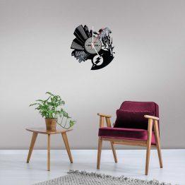 The Flash LP Vinyl Clock
