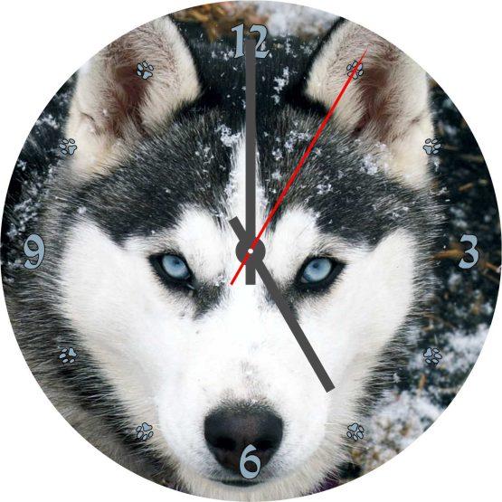 husky CD Clock
